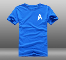 font b Mens b font Casual 2016 Movie Star Trek 3 Beyond Captain Kirk Badge