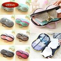 8 Colors Storage Bag Box Protect Bra Organizer Container Underwear Case Travel Portable UIE493