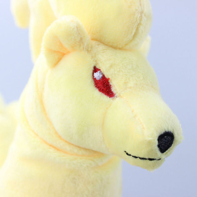 Ninetales Plush Toys Cartoon Stuffed Dolls Brinquedo 10″ 25CM