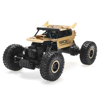 Flytec 9118 1/18 2.4G 4WD Alloy Off-road RC Climbing Car Clamber Cross Country Vehicle