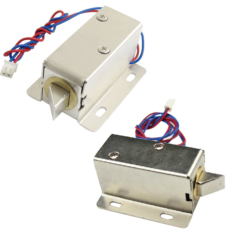 цена на DC 12V/24V Open Frame Type Solenoid for Electric Door Lock LCC77