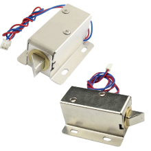 DC 12V/24V Open Frame Type Solenoid for Electric Door Lock LCC77