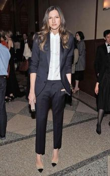 Jacket+Pants Women Business Suit Black Long Sleeves Office Uniform Ladies Formal Trouser 2 Piece Sets W244