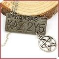 La nueva europa y los estados unidos película accesorios circundantes supernatural, dean of The matrícula pentagram collar
