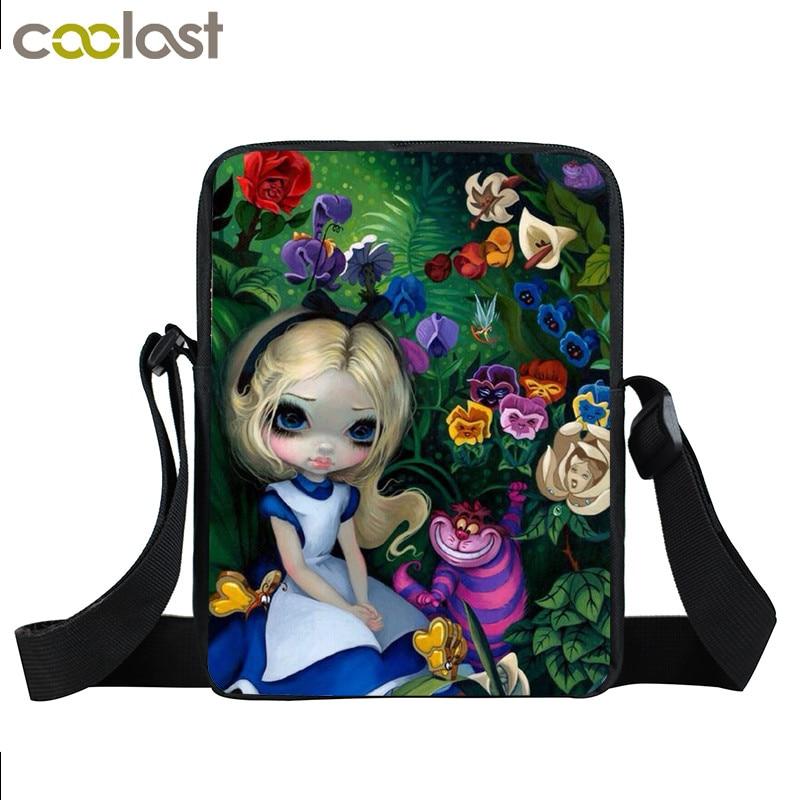 dos desenhos animados menina gótico Usage : Lunch Bag , Bookbag , School Bags , Daily Bag , Schoolbags