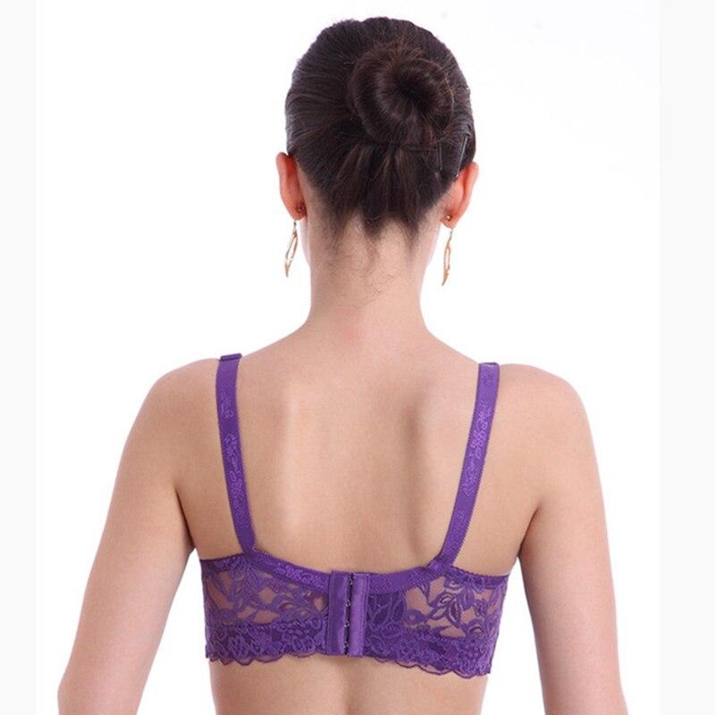 Laamei 3/4 Cup Bra Women Lace Bras Fashion Underwear Brassiere Sexy Lingerie Intimates Push Up Bra Plus Size Underwire Bralette