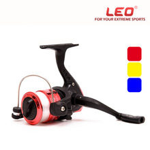 Small Plastic Spinning Fishing Reels Lightweight 3 Colors 5 2 1 Gear Ratio 3BB Bearings Freshwater