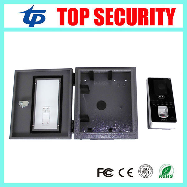Iface3 multibio800 face and fingerprint access control waterproof protect box protect cover safety protect housing biometric face and fingerprint access controller tcp ip zk multibio700 facial time attendance and door security control system
