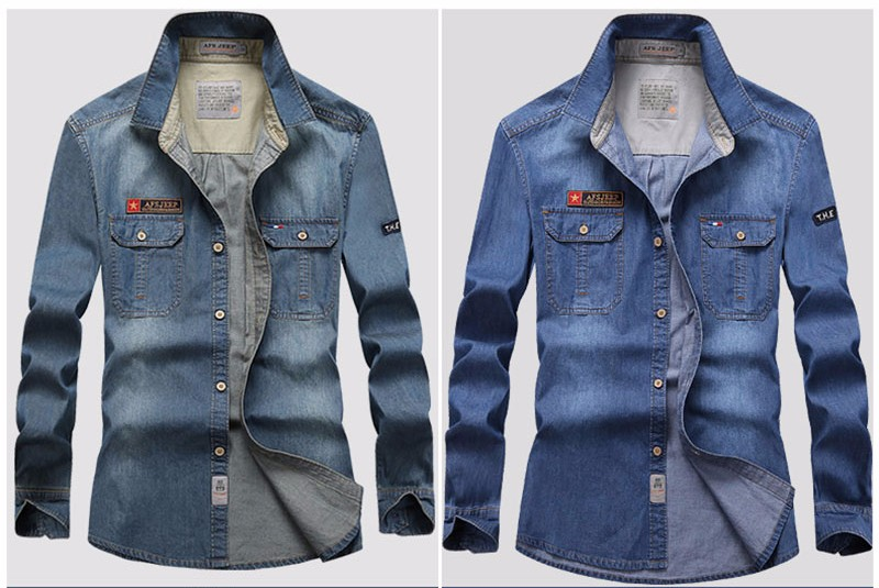 MEN DENIM SHIRTS (8)