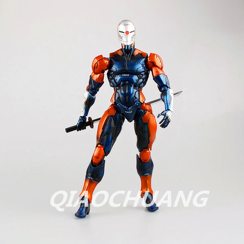 Play Arts Kai Metal Gear Solid Cyborg Ninja Gray Fox PVC Action Figure Collectible Model Toy RETAIL BOX W99