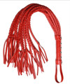 80 CM Sex Long Red Genuine Leather Whip Flogger Ass Spanking Bondage Slave Flirting Toys In Adult Games For Couples