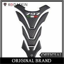 KODASKIN Real Carbon Tank Pad Sticker Decal Emblem for Ducati Hypermotard 939 kodaskin motorcycle real carbon gas cap tank pad sticker decal emblem for ducati monster 795