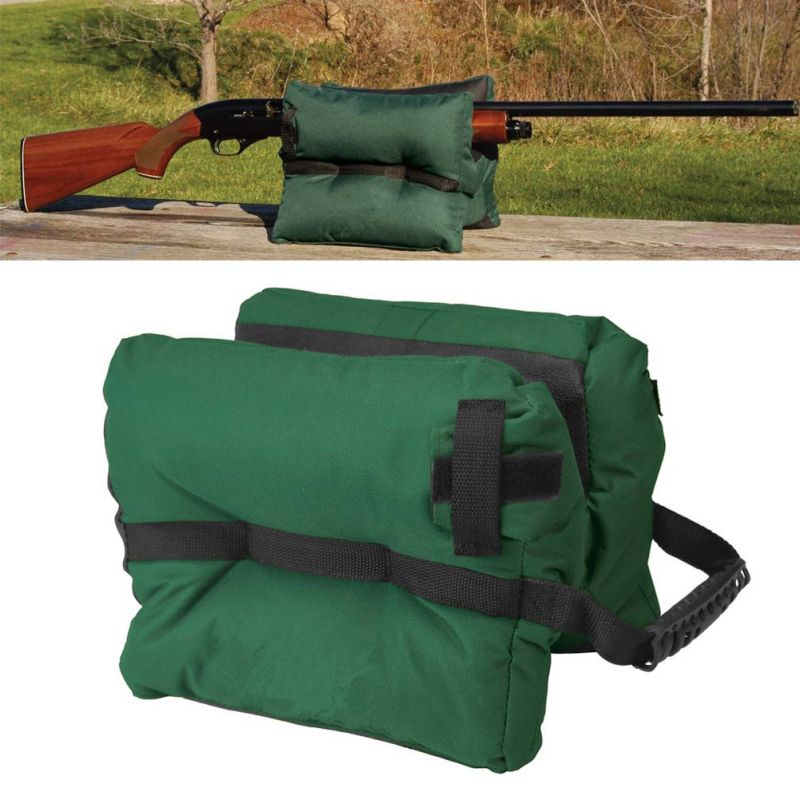 Newest Outdoor Tack Driver Accessories Shooting Bag Gun Rest Target Sports Rifle Bench Unfilled Sand Green W1