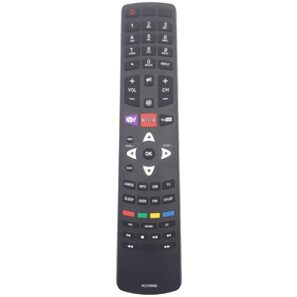 RC3100N08 Remote Control For TCL TV LE55FHDF3300ZTA LE48FHDF3300ZTA LE55FHDE5510CTA LE32HDE3000 LE32H