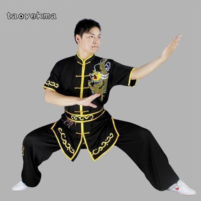 Taoyekma Wushu Clothing Uniform Wushu Costume Kung Fu Uniform Clothes Martial Arts Uniform Chinese Warrior Costume Exercise