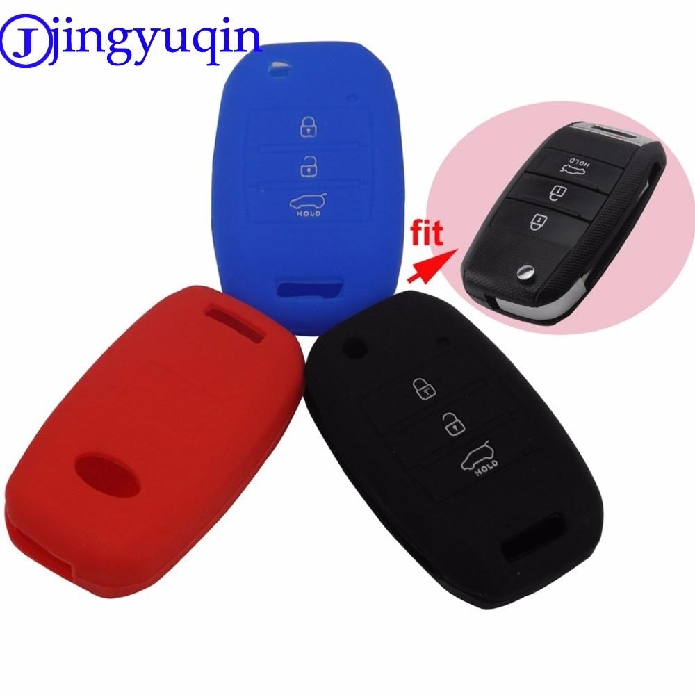 jingyuqin New 3 Buttons Silicone Remote Folding Flid Key Case Cover For Kia Sorento Carens K2 K3 K4 K5jingyuqin New 3 Buttons Silicone Remote Folding Flid Key Case Cover For Kia Sorento Carens K2 K3 K4 K5