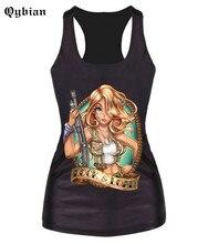 Firearms Beautiful Agent 3D Print Women's Tank Tops Summer Slim T Shirt Casual Sleeveless Vest Woman 2016