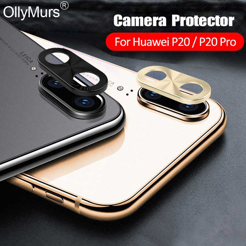 For Huawei P20 Pro Camera Lens Protector Bumper Case For huawei p30 p 30 p 20 Back Camera Glass Cover Rear Protection Metal Ring