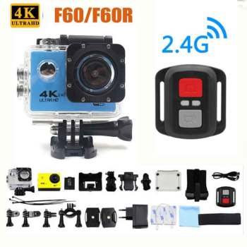 Ultra HD Action camera F60/F60R 4K/30fps 16MP WiFi 170Dgree Helmet Camera Underwater 30m Diving Waterproof Sports - discount item  11% OFF Camera & Photo