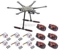 DIY RC S550 F550 500 Full Set 6 axis Aircraft Kit Frame 2312 920KV Motor 30a Brushless ESC