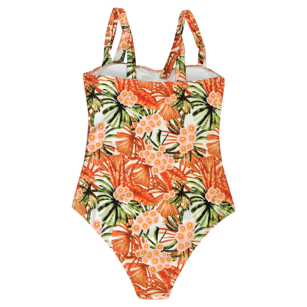 008d4232c4208 Belleziva Women Floral Print One Piece Swimsuit Lady Swimwear Vintage  Bathing Suit Monokinis Adjustable Strap Female Jumpsuit-in Body Suits from  Sports ...