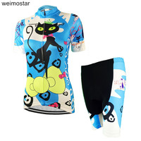 WEIMOSTAR Women Bicycle Team Cycling Jersey Cycling Clothing Sportswear Blue Bike Roupa Ciclismo Outdoor Jersey CD6712