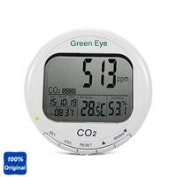 Цифровой термометр для помещения гигрометр CO2 детектор диоксида углерода с Диапазон измерения: 0 ~ 9999ppm AZ 7798