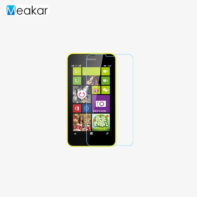 0.3 مللي متر 2.5D 9 H الزجاج 4.5for نوكيا Lumia 630 المقسى زجاج عليه طبقة غشاء رقيقة واقي للشاشة ل نوكيا Lumia 630 ميا 635 الهاتف