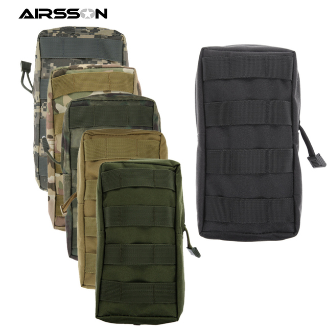 Airsson Sports Military 600D MOLLE Pouch Bag 2