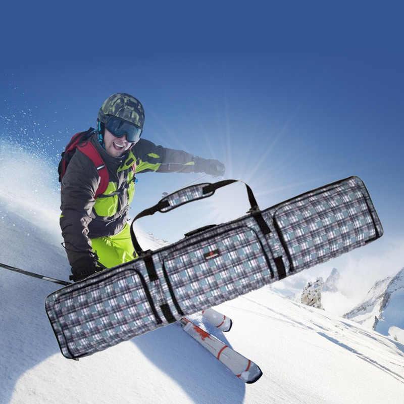 34872b0ff9cd skiing bags Wheeled snowboard bag double board snowboard bag shoulder ski  backpack checked ski package special