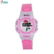 OTOKY 2017 Dignity Colorful Boys Girls Students Time Electronic Digital Wrist Sport Watches Baby Gifts reloj montre Hot May01
