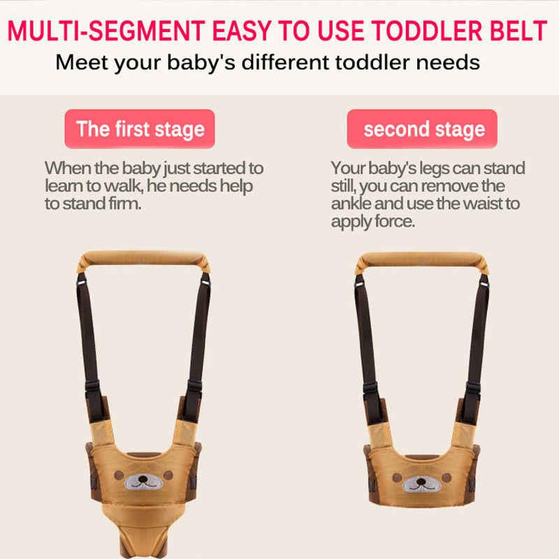 Hot Baby Unisex Walker asystent uprząż bezpieczeństwo maluch pas Walking Wing niemowlę Kid bezpieczne smycze 6-24M