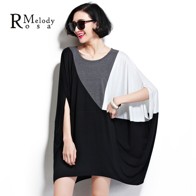 9a3994eb7d BelineRosa Women Tops Women Tee Shirts Loose Cotton Women's Big Plus Tunic  for Ladies Fit 3XL~ 5XL 6XL DS0019-in T-Shirts from Women's Clothing & ...