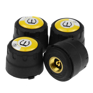 Image 3 - TPMS Bluetooth 4.0 universal external tyre pressure sensor support IOS Android phone Tire Pressure Sensor Easy Install