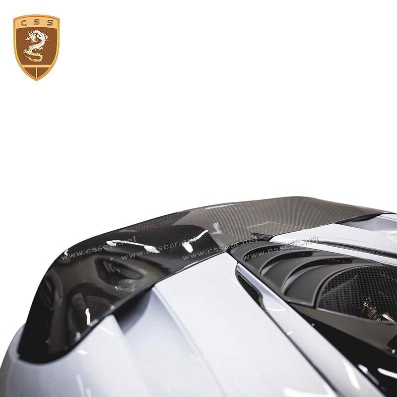 Csscar автомобиль изменение части высокого уровня углерода задний спойлер Крылья для McLaren 720 S Авто модификации аксессуары для укладки обвесы