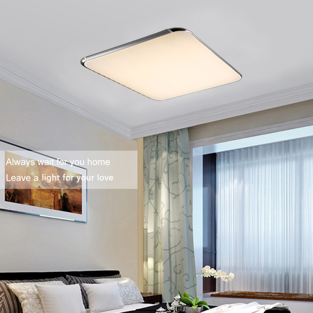 Kitchen Flush Mount Ceiling Lights Led ceiling light 36w square kitchen light2600lm 100240v 29inch led ceiling light 36w square kitchen light2600lm 100240v 29inch modern led flush workwithnaturefo