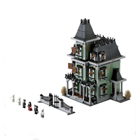 LEPIN 16007 2141Pcs Monster Fighter The Haunted House Model Set Building Blocks Kits Model Compatible 10228