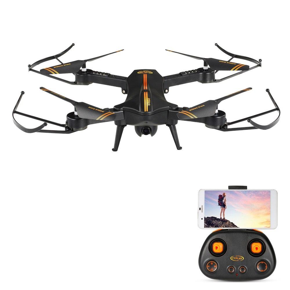 G-sensor Drone WIFI 720P HD Camera Foldable Altitude Hold RC Quadcopter Toys USA