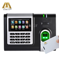 X628 C 3 inch screen fingerprint recognition time attendence system with MF card reader TCP/IP time clock