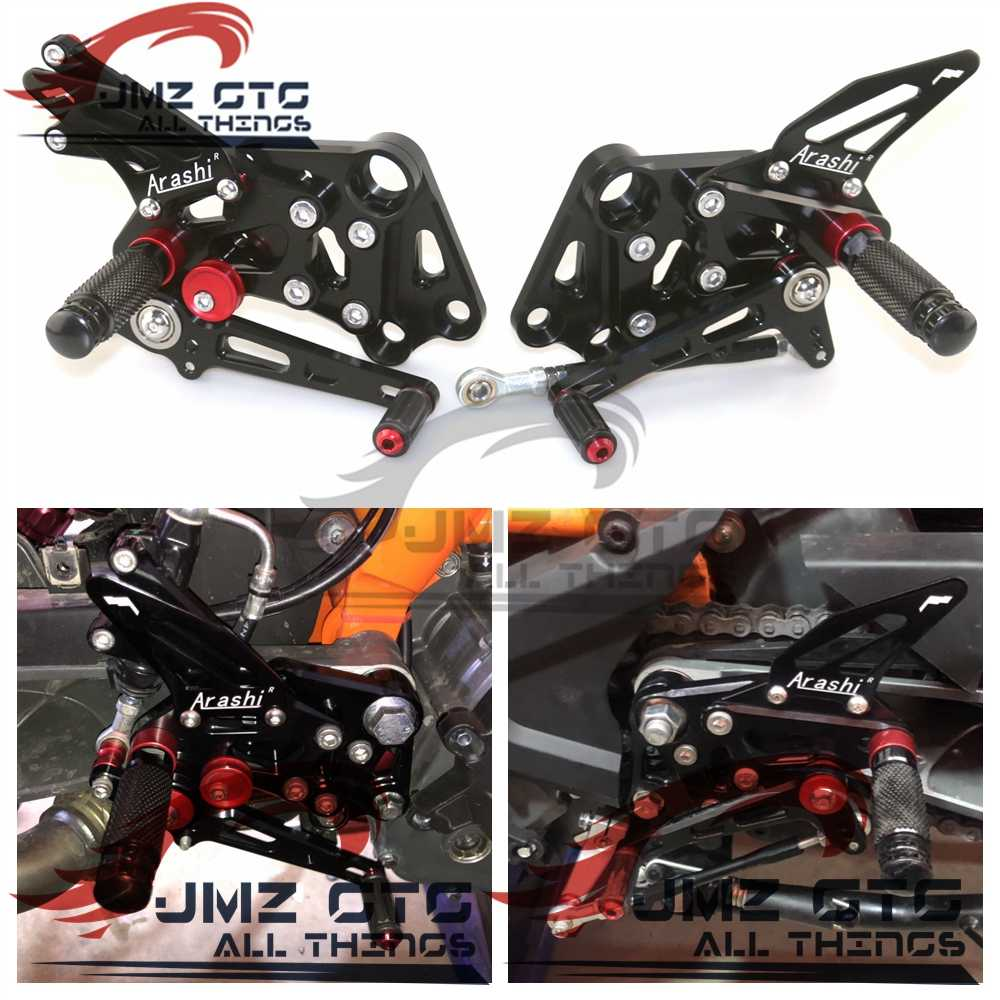 Cross-country Motorcycle CNC Foot Pedal Preventio Rest Footrests For CRF BBR Kit