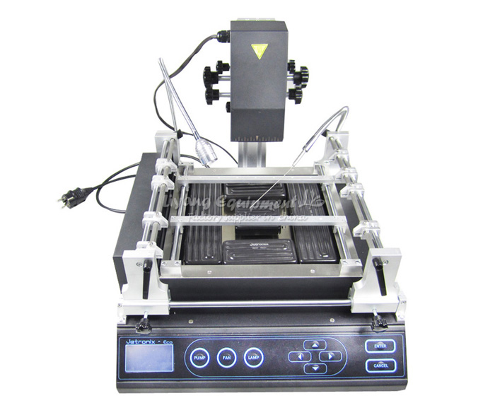 Free shipping To EU, No Tax! Jovy Jetronix-Eco infrared BGA rework station Jovy system + 11 in 1 90mm BGA reballing kit
