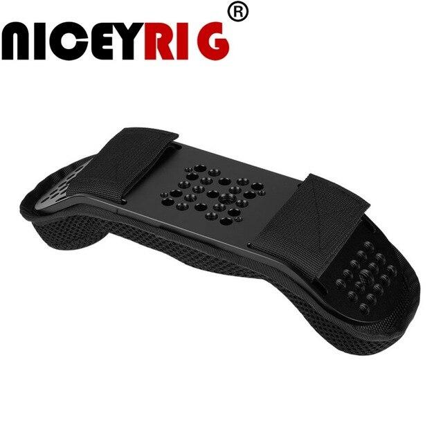 """NICEYRIG DSLR Omuz Rig Kamera Rig Omuz Sabitleyici Omuz Desteği Video Rig Kamera Video Kafes Sünger Ped 1/4 """"DSLR 3/8"""""""