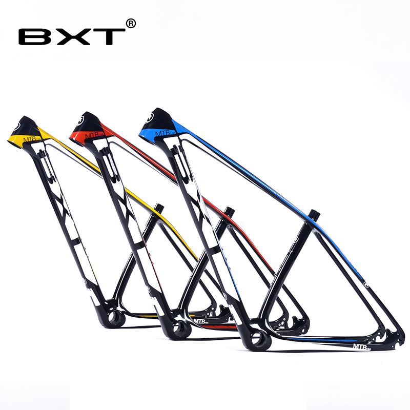 2016 chinese carbon mtb frame 29er bicicletas mountain bike 29 bicycle parts carbon frame 142