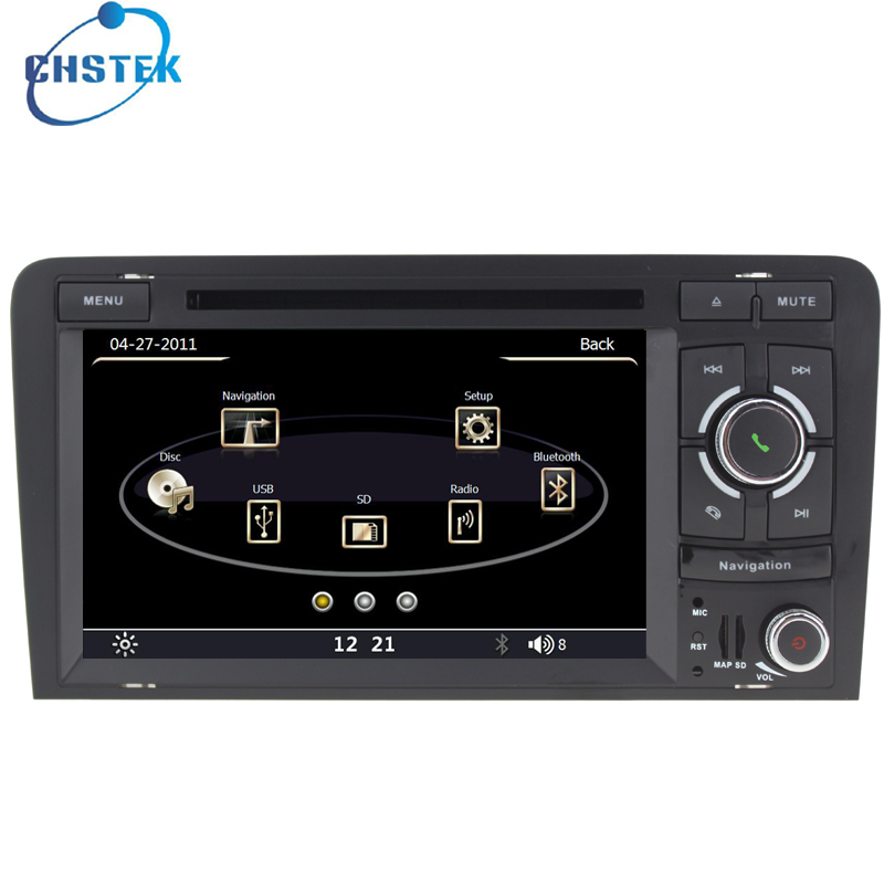 Capacitive 2 din car car dvd player for audi a3 a3 s3 for Mueble 2 din audi a3