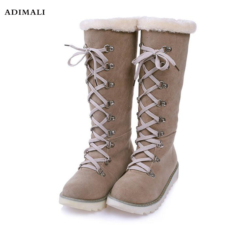 Genuine leather Fur Snow boots women Top High quality Boots Winter Boots for women Warm botas mujer 2016 new brand designer tassels snow boots for women good quality winter boots genuine leather boots platform botas mujer