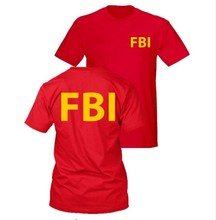 FBI Female Body Inspector T Shirt Men Short Sleeve Round Neck Personality Funny T-Shirt Obama Geek Tshirt US Standard Tops Tees