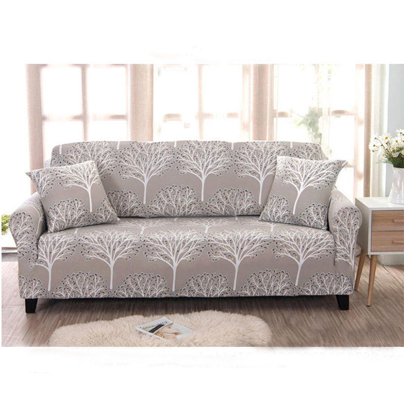 AAG Flower Slipcover Sofa Cover Tightly All inclusive Wrap Single Double Three Four Seat Sofa Cover Elasticity Sofa Cover 1PCS in Sofa Cover from Home Garden