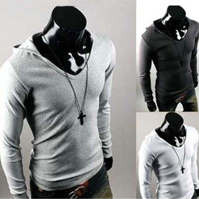 Online Get Cheap Mens Hooded T Shirt Long Sleeve -Aliexpress.com ...
