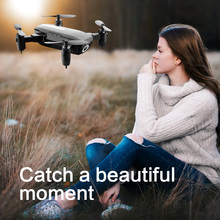 купить 2.4G WIFI  Camera Mini Foldable Drone 801 With Altitude Hold One-key Return RC Quadcopter Drone With 0.3MP/2MP Camera FSWB дешево