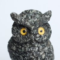 2016 Unique Design Natural Crystal Gemstone Owl figurines for Christmas Charms Gift and decoration Wholesale